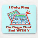 Bingo-Tage Mousepads