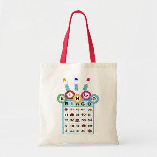 Bingo-Taschen-Tasche KRW bunte Budget Stoffbeutel