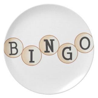 Bingo Flacher Teller