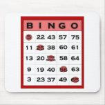 Bingokarte Mousepad