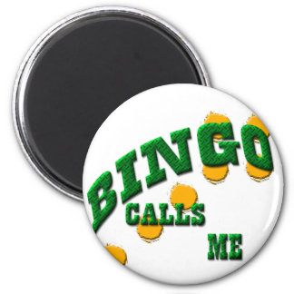 Bingospiele Runder Magnet 5,1 Cm
