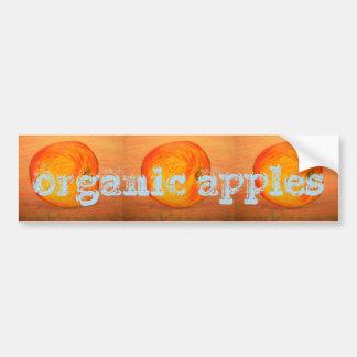 Bio Äpfel Autoaufkleber