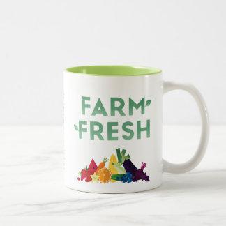 Bio Bauernhof-frische Tasse