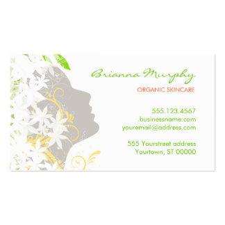 Bio Cosmetologist-Verabredungs-Geschäfts-Karte Visitenkarten