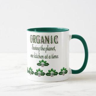 Bio, die Planeten-Küchen-Sprichwort-Tasse rettend Tasse