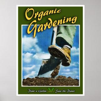 Bio Gartenarbeit Poster