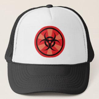 Bio-Gefahr - Rot Truckerkappe
