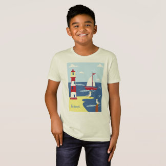 Bio Kinder - Seejungen-T - Shirt personalisiert