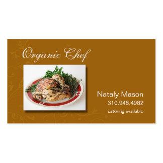 """""""Bio Kochs-"""" Catering, gesundes Essen, Nahrung Visitenkarten"""