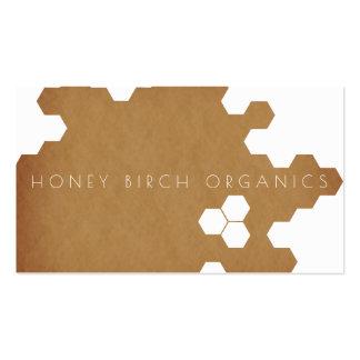 Bio natürliches Geschäft der Bienenwaben-| Visitenkarten