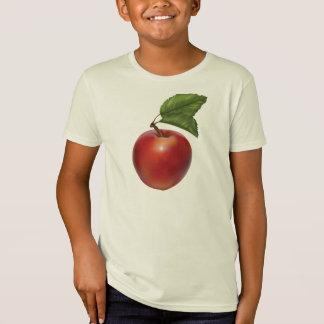 Bio T - Shirt Apple-Kinder amerikanisches Kleider