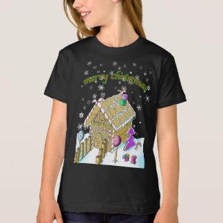 Bio T - Shirt der Mädchen amerikanisches Kleider,
