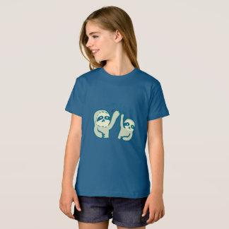 Bio T - Shirt der Mädchen der Sloths-Hi5