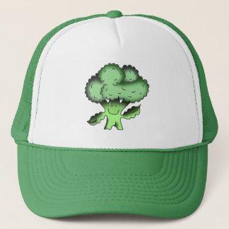 Bio traditionelles veganes des Brokkolis Truckerkappe