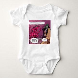 Bio und GVO-Datum lustig Baby Strampler