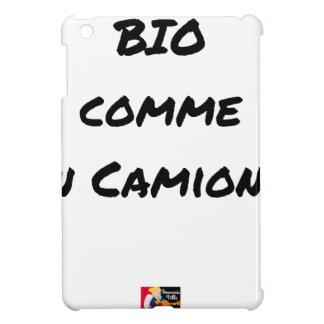 BIO- WIE EIN LASTWAGEN? - Wortspiele iPad Mini Hülle