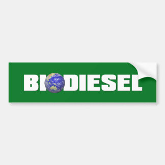 Biodiesel Autoaufkleber