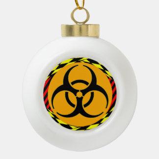 Biogefährdung-Entwurf durch Kenneth Yoncich Keramik Kugel-Ornament