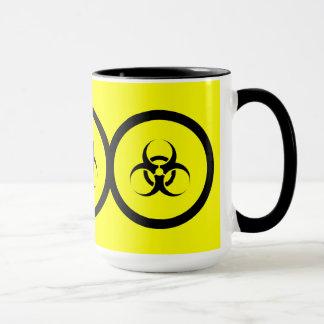 Biogefährdung-Kaffee-Tasse Tasse