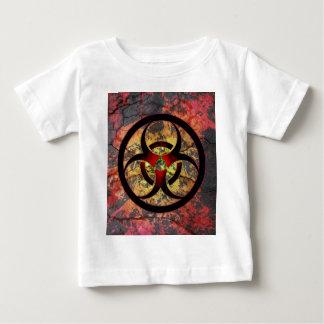 Biogefährdung-Kunst-Entwurf Baby T-shirt