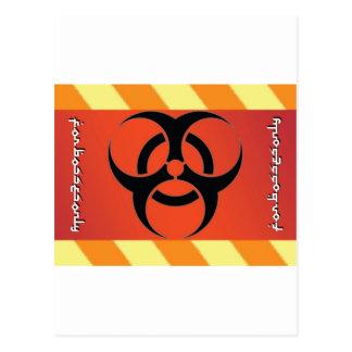Biogefährdung Postkarte