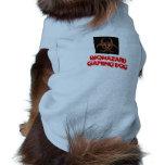 Biogefährdung-Symbol, Biogefährdung-Spiel-Hund Hunde-t-shirt