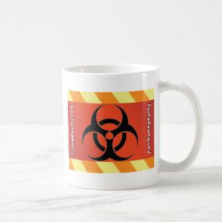 Biogefährdung-Symbol Kaffeetasse