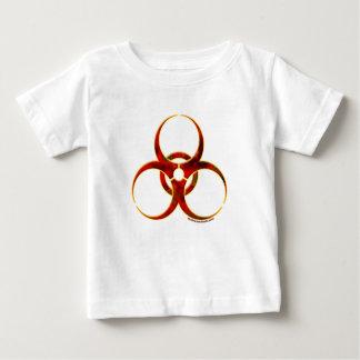 Biogefährdung-Warnsymbol Baby T-shirt