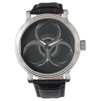 Biogefährdung X Armbanduhr