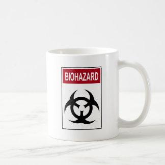 BiogefahrenVintages Zeichen Kaffeetasse