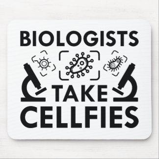 Biologen nehmen Cellfies Mousepad