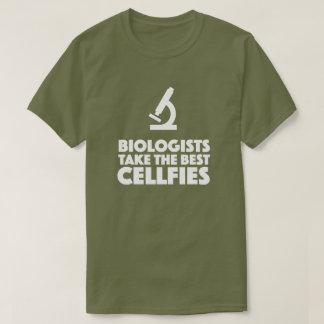Biologen nehmen das beste cellfies Mikroskop T-Shirt