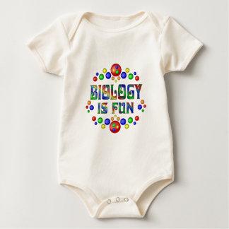 Biologie ist Spaß Baby Strampler