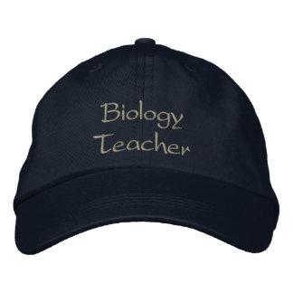 Biologie-Lehrer-gestickter Kappen-Licht-Stich Bestickte Kappe