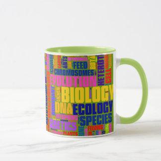 Biologie Wordle Tassen-Grün Tasse