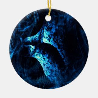 Biomechanik Rundes Keramik Ornament