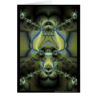 Biomorphia Grußkarte