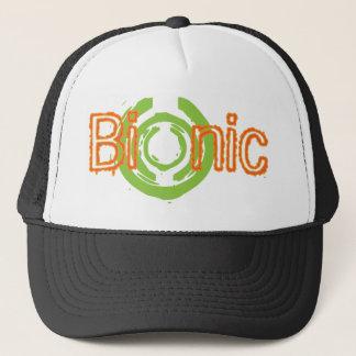 Bionic nervöse Logo-T-Shirts und Geschenke Truckerkappe
