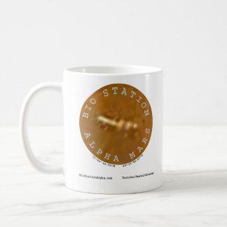 Biostations-Alpha auf Mars Kaffeetasse