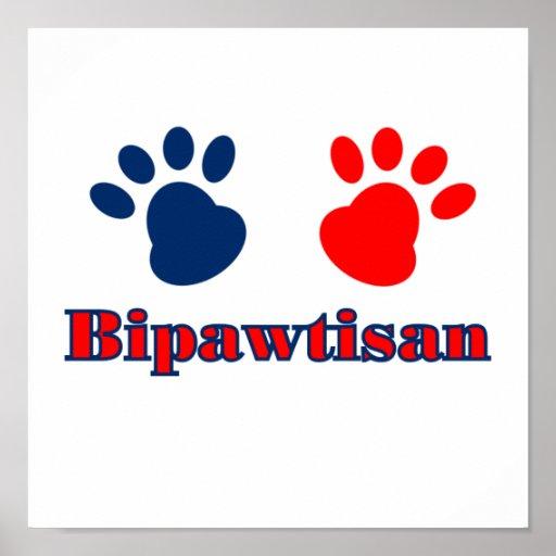 Bipawtisan Politik Plakatdrucke