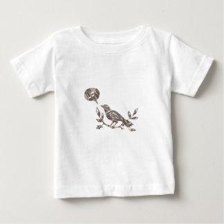 Bird singing baby t-shirt
