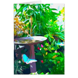 Birdbath in Key West Karte