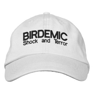 BIRDEMIC - Schock-und Terror-Hut Bestickte Kappe