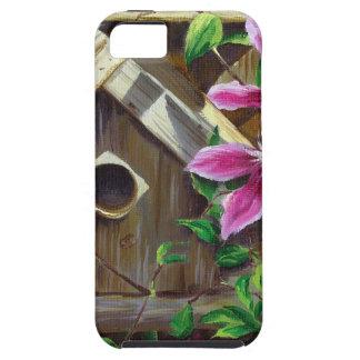 Birdhouse 0003 u. Clematis Hülle Fürs iPhone 5
