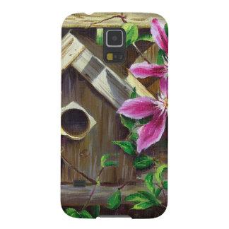 Birdhouse 0003 u. Clematis Samsung S5 Cover