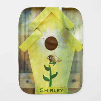 Birdhouse durch Shirley Taylor Baby Spucktuch