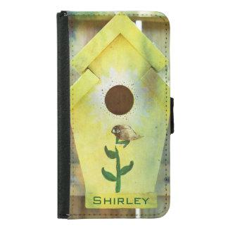 Birdhouse durch Shirley Taylor Geldbeutel Hülle Für Das Samsung Galaxy S5