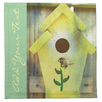 Birdhouse durch Shirley Taylor Serviette