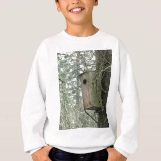 Birdhouse im Holz Sweatshirt