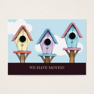 Birdhouses | haben wir Minimitteilung bewegt Visitenkarte